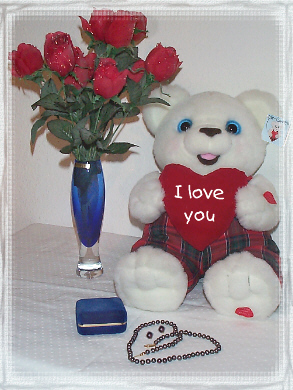 A Mr. Gwell Teddy Bear For A Special Occation Or Anniversary
